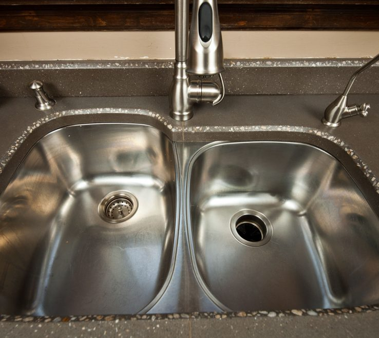 Odd Shaped Kitchen Sinks Of Concrete Custom Fit To Match Under