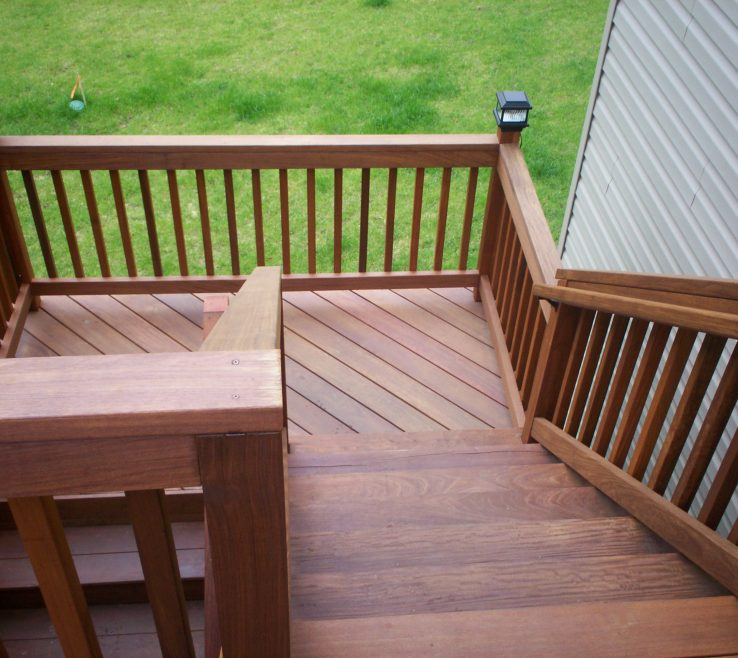 Outdoor Stairs Ideas Of Deck Stair Designs By Archadeck, St. Louis
