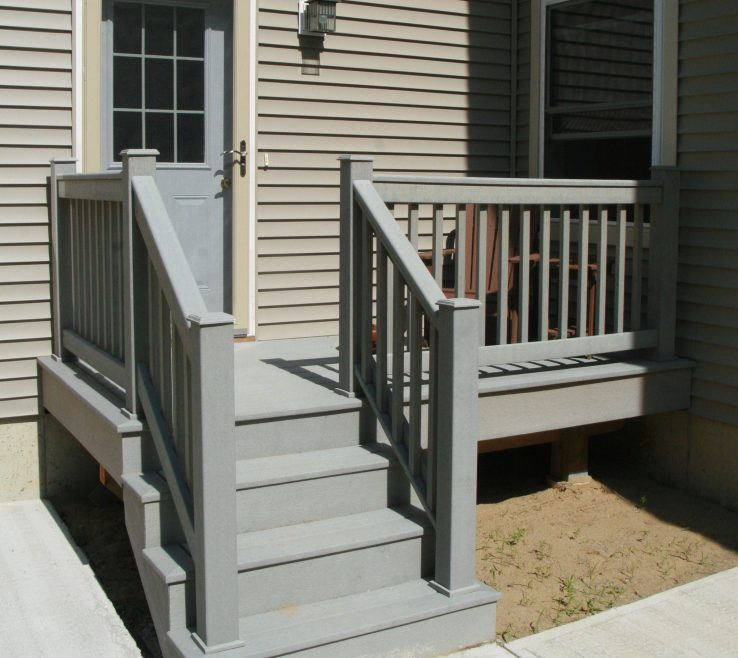 Outdoor Stairs Ideas Of Deck Stair Railing, Railing Ideas, Exterior Stair