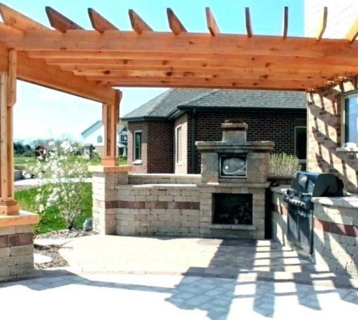 Outside Canopy Ideas Of Backyard Deck Backyard
