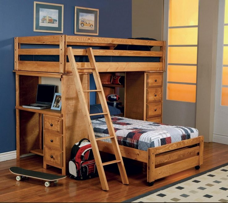 Pact Beds For Small Rooms Of Casual Home Bunk Bed Ideas Contemporary