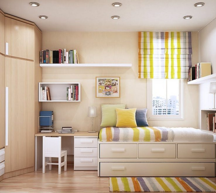 Pact Beds For Small Rooms Of Cool Inspiration Great Designing Interior Carpet
