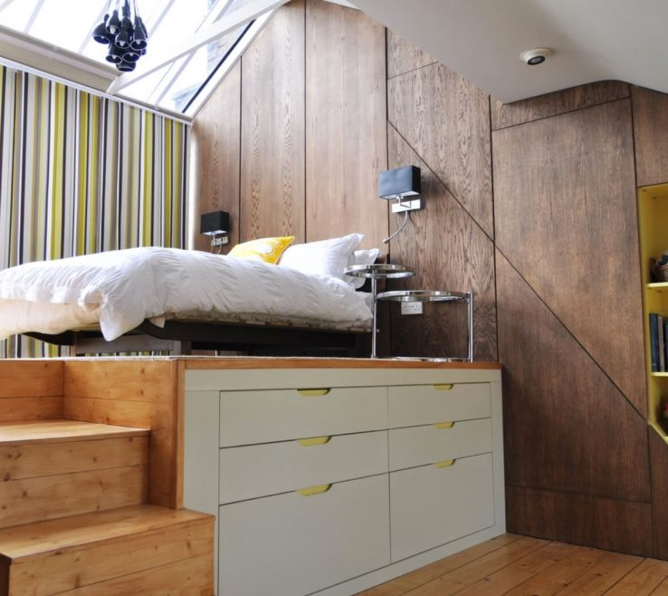 Pact Beds For Small Rooms Of Space Loft Platform