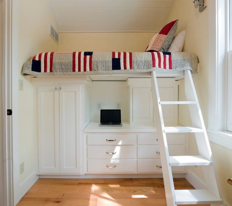 Pact Beds For Small Rooms Of Space Loft Storage
