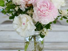 Peony Flower Arrangement Ideas