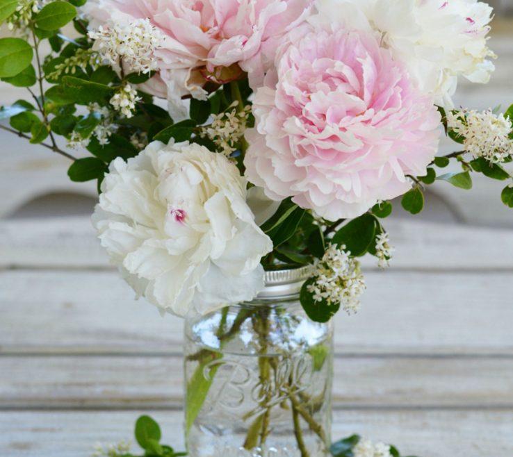 Peony Flower Arrangement Ideas Of Arrangements Easy Floral Creative Diy