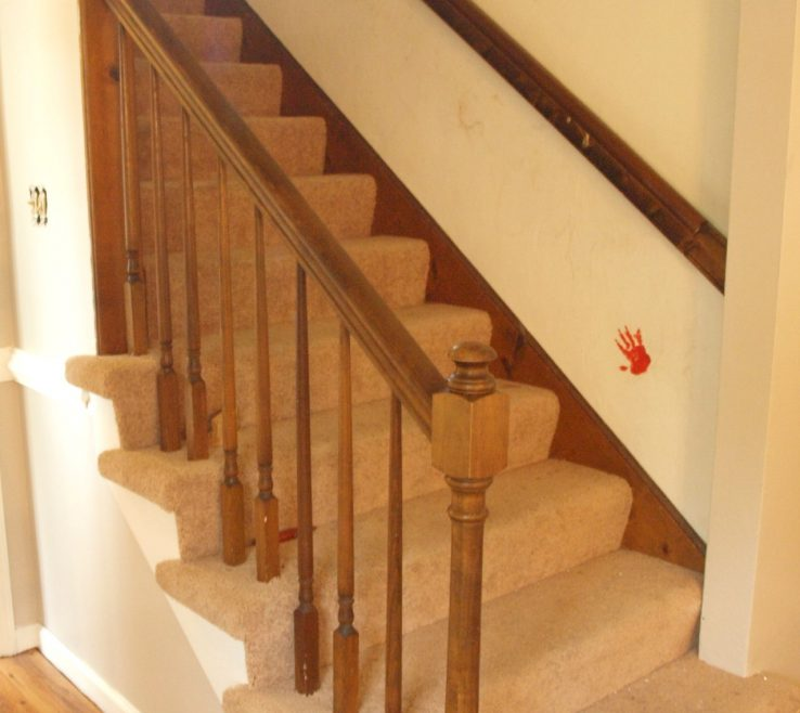 Picturesque Cheap Stair Tread Ideas Of Kitchen Stairs Before