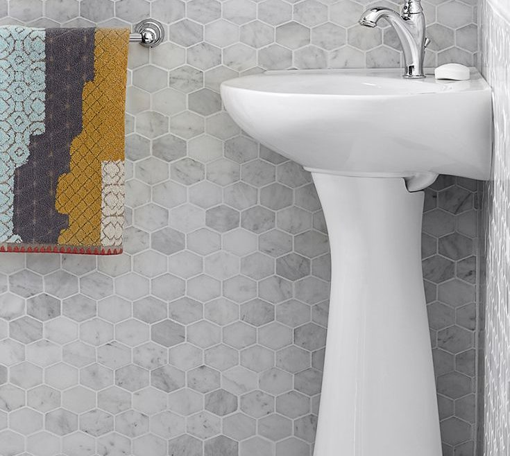 Picturesque Corner Pedestal Sinks For Small Bathrooms Of Pact, Sink By @amstandard Is Ideal