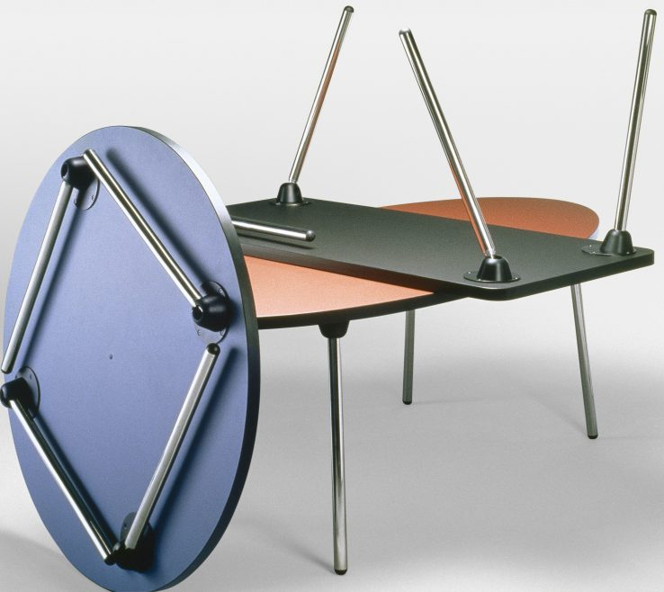 Picturesque Design Folding Table