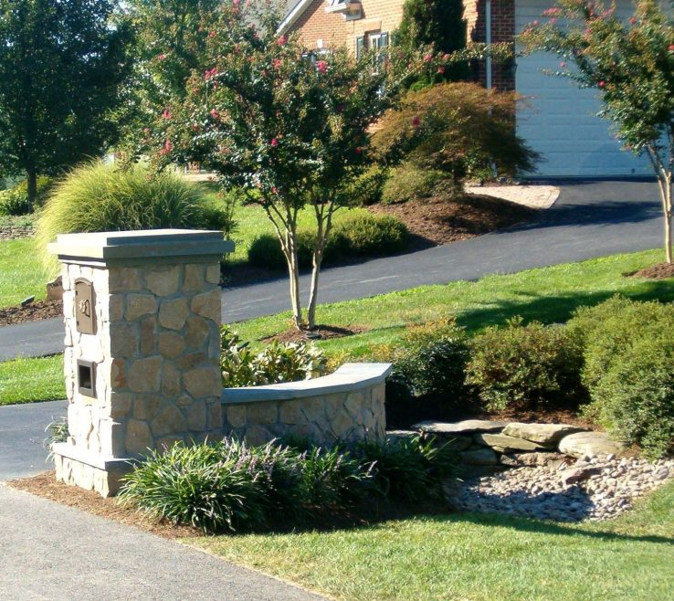 Picturesque Driveway Entrance Ideas Of Pictures Of Entrances Landscaping Stone Entry