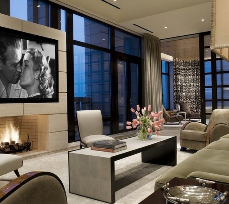 Picturesque Family Rooms With Fireplaces Of Room Ideas Tv And Fireplace