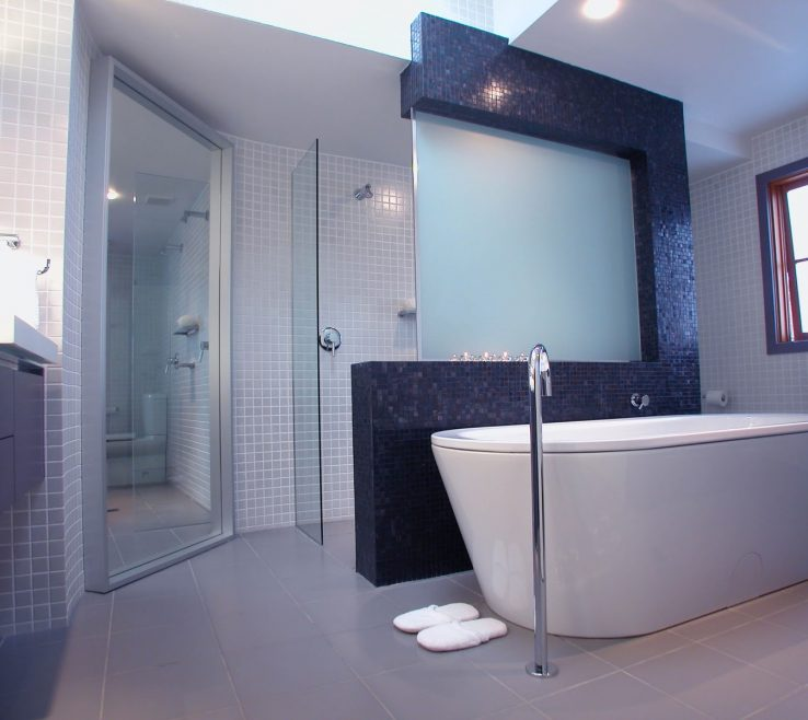 Picturesque Modern Bathroom Walls Of Minosa: Main Designed To Share