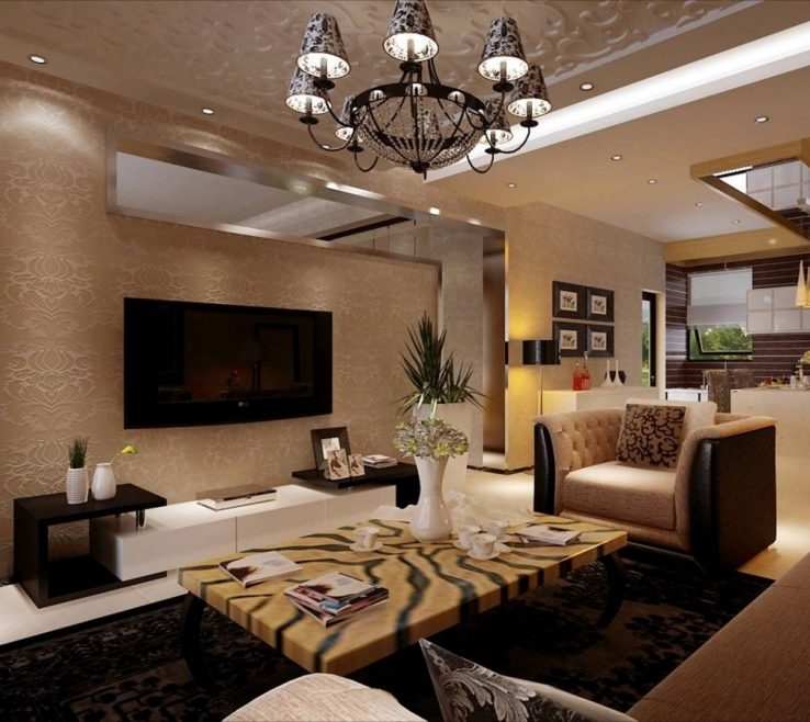 Picturesque Modern Wall Decoration Ideas Of Large Living Room Ideas. Decor