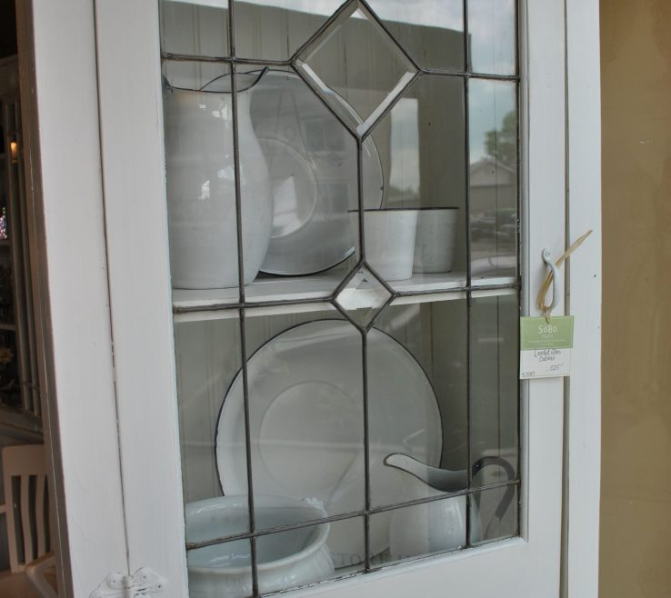 Picturesque Stained Glass Kitchen Doors Of White Leaded Stainedglasskitchen