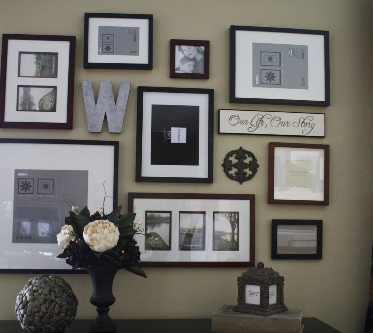 Picturesque Wall Picture Frames Layout Of Project Home Frame