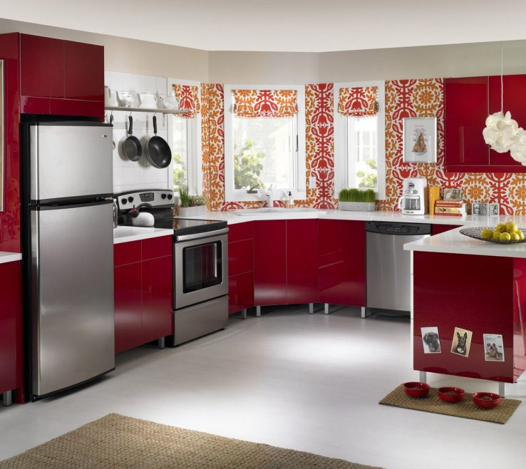 Picturesque Wallpaper Designs For Kitchen Of Kitchen: Furniture Interior Hd Wallpapers In Hd