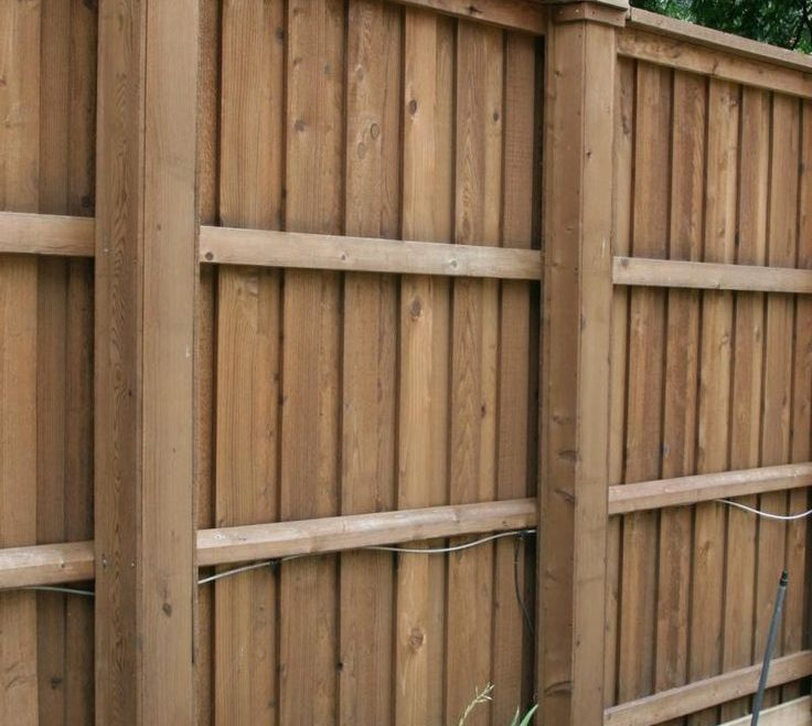 Picturesque Wood Fence Designs Of Ideas High