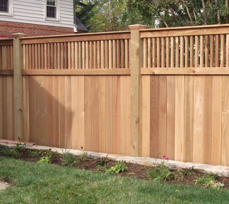 Picturesque Wood Fence Designs Of Privacy Ideas