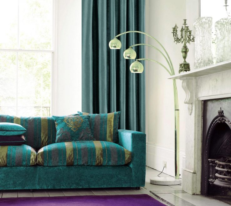 Red And Purple Home Decor Of Beautiful Teal Living Room Homesfeed