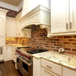 Red Brick Kitchen Wall Tiles Of Large Size Of Kitchenexposed Effect Cream