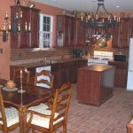 Red Brick Kitchen Wall Tiles Of Thin Veneer Ceilings