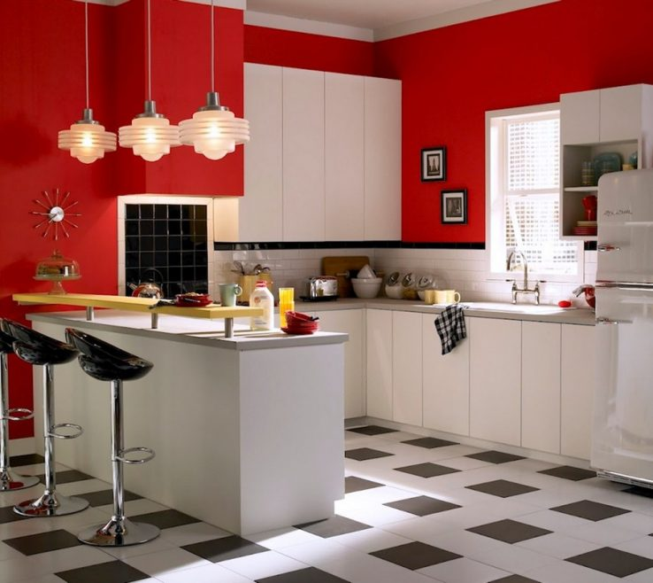 Red White And Black Kitchen Tiles Of Best Of New Design Mosaic