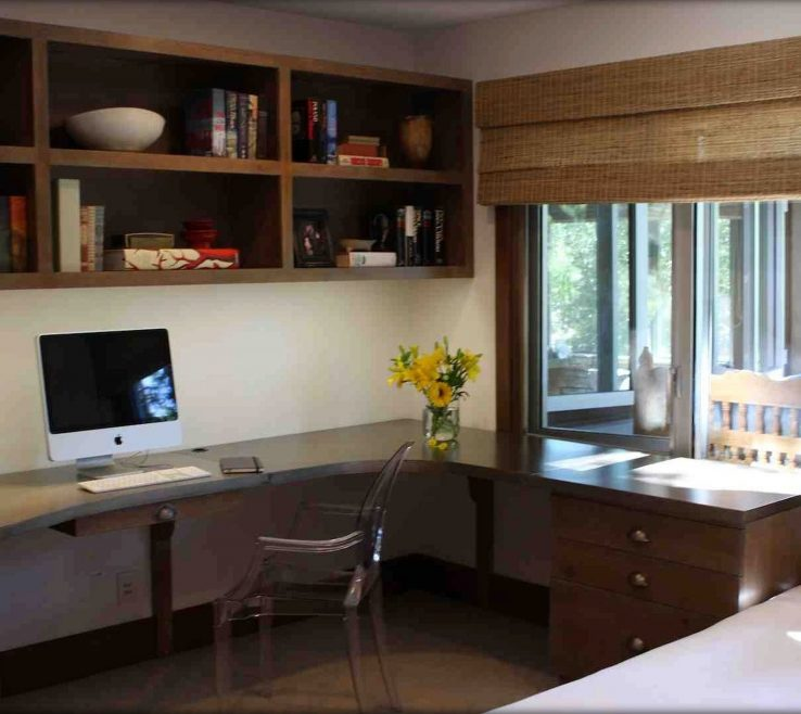Remarkable Built In Desk Ideas For Small Spaces Of Office:creative Of With Home Office And 22