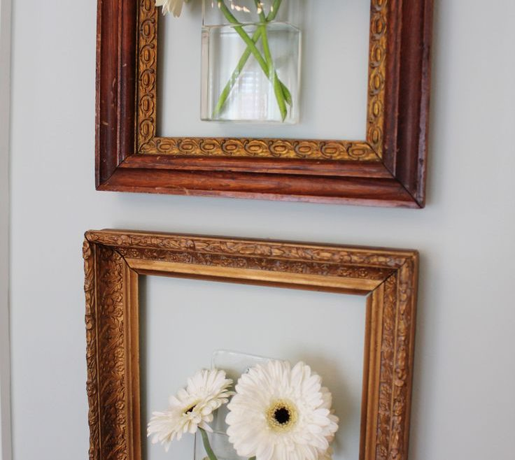 Remarkable Framed Objects Wall Art Of Best Empty Picture Frames Ideas On Inspiration