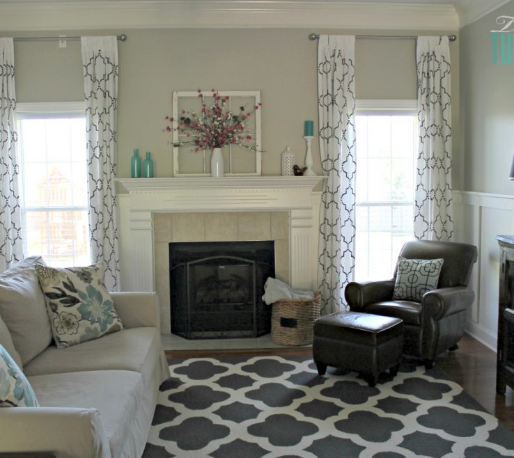 Remarkable Turquoise Living Room Ideas Of Makeover With Beautiful Diy Board