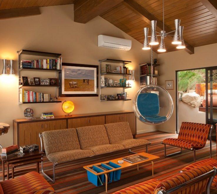 Retro Decorating Ideas Of Furniture Living Room