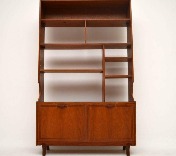 Room Dividers Of Teak Retro Bookcase Divider Vintage 1960