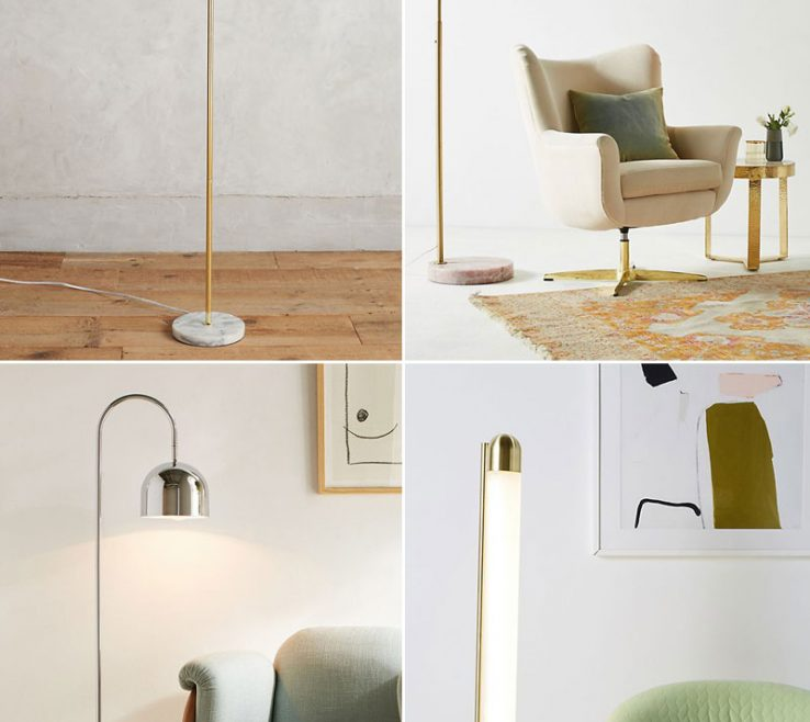 Small Space Lighting Of 25+ Stylish Floor Lamps For Your Or