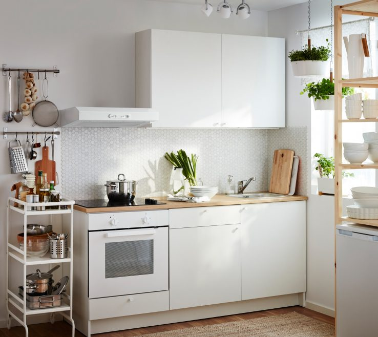 Small White Kitchens Of A Kitchen Consisting Of Plete Base