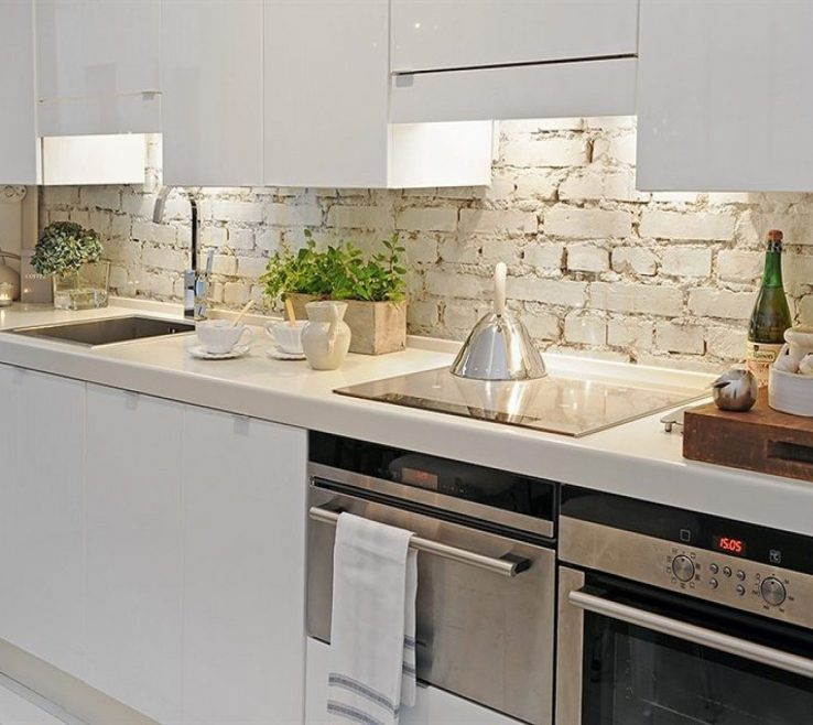 Small White Kitchens Of Wonderful Wood Stainless Unique Design Kitchen .