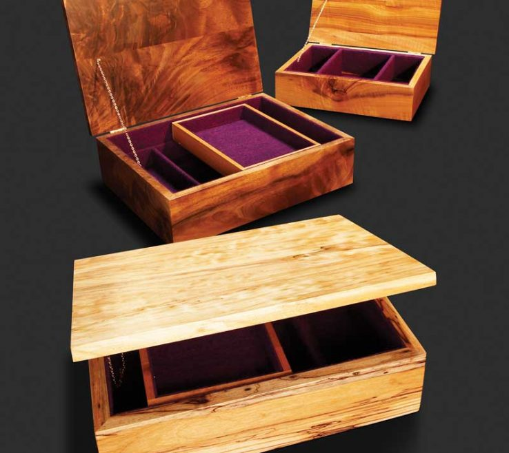 Small Wood Project Ideas Of Pure And Simple Jewelry Box
