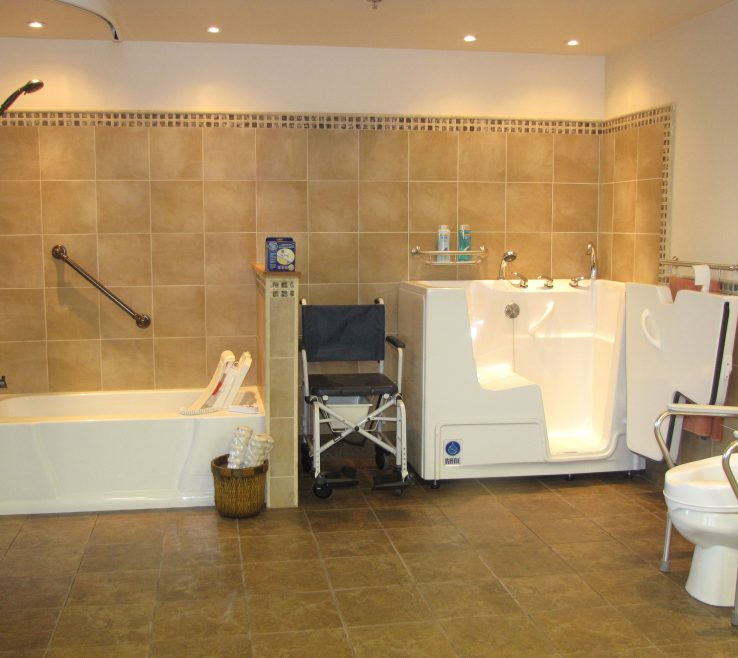 Sophisticated Bathrooms For Disabled Persons Of Home Bathroom Modifications Seniors #handicsuperbedbathrooms >> Find
