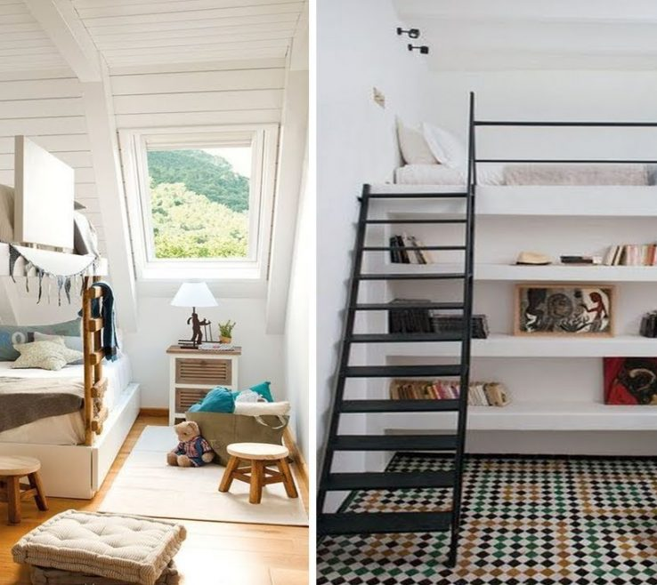 Sophisticated Beds For Small Spaces Of 40 Loft Bed Ideas Rooms