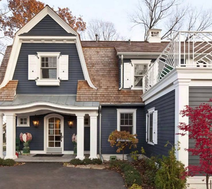 Sophisticated Cottage Paint Color Schemes