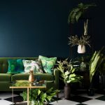 Sophisticated Dark Green Living Room Of Trendy Color Schemes To Decorate Your