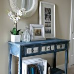 Sophisticated Entrance Hall Tables For Sale Of Mediterranean Blue Entry Table Design
