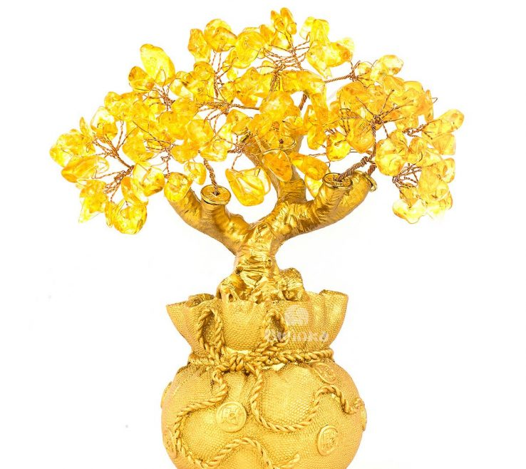 Sophisticated Feng Shui Stones For Wealth Of Natural Citrine Gem Yellow Crystal Money