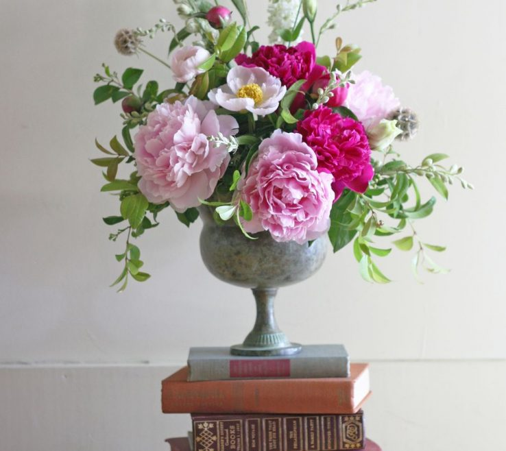 Sophisticated Peony Flower Arrangement Ideas Of Home Ideas Floral Arrangements For Summer