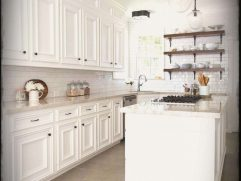 Red White And Black Kitchen Tiles