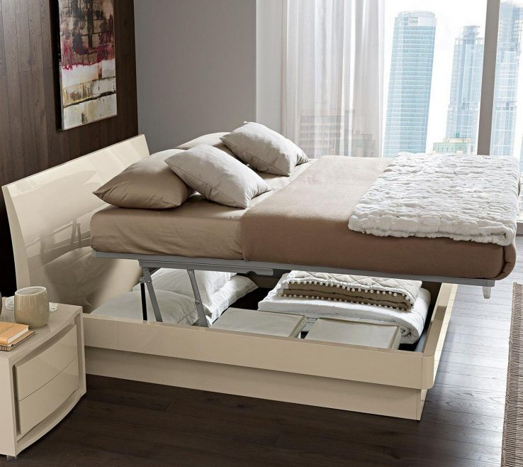 Sophisticated Space Saving Storage Beds Of Small Bedroom With Under Mattress