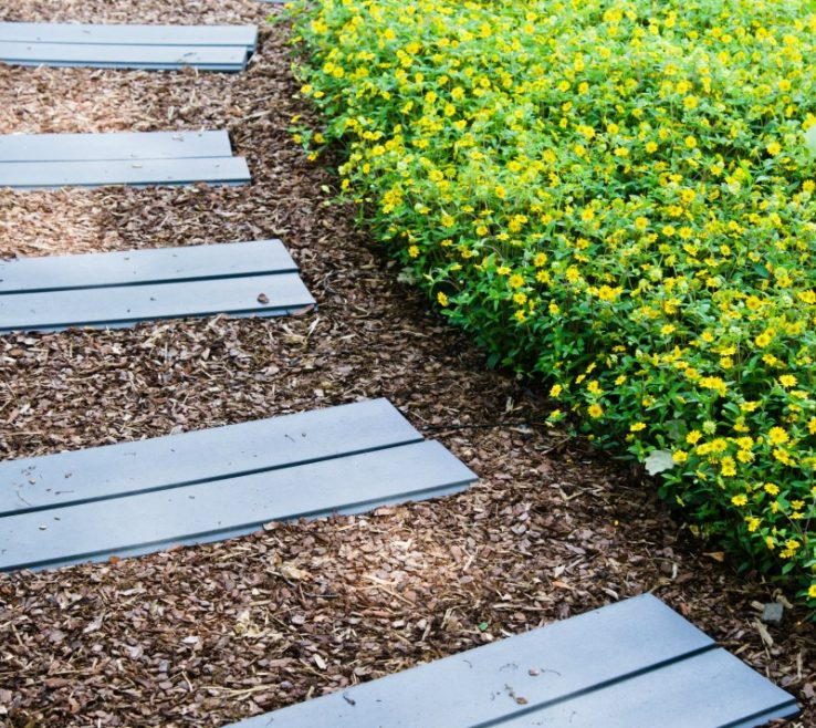 Sophisticated Wood Garden Path Of Garden Paths