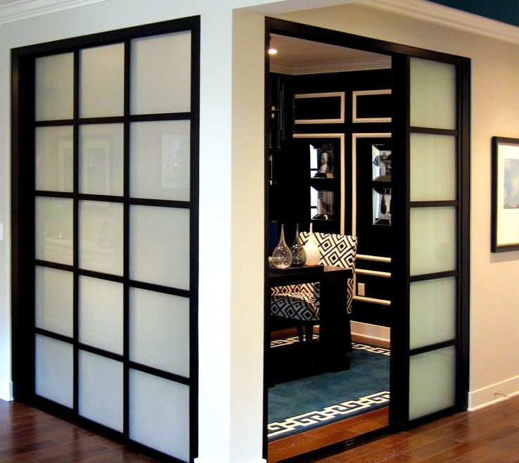 Stained Glass Kitchen Doors Of Alluring Modern Design Ideas And Wall Slide