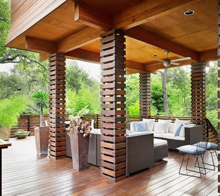 Structural Pillars Of Column Ideas Exterior Wood Ideas