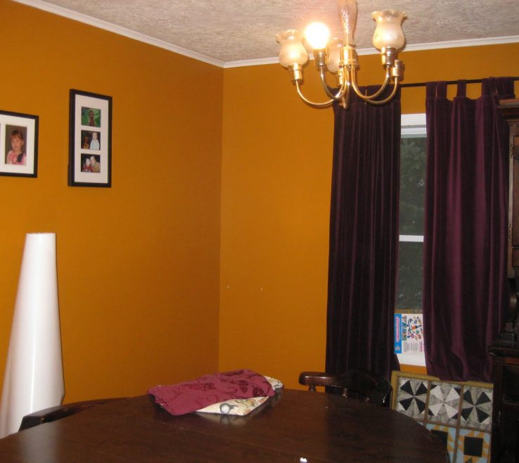 Curtains With Orange Walls Acnn Decor