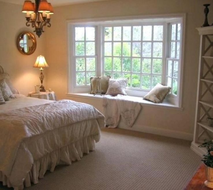 Superbealing Decorating Bay Windows Of A Window In The Bedroom How