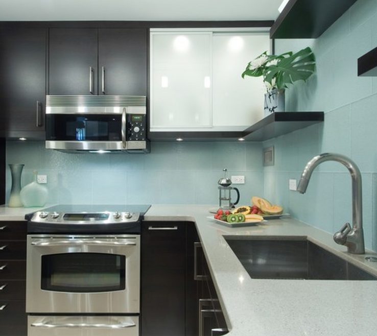 Superbealing Designer Kitchen Backsplash Of Unique Modern Designs Home Depot Green